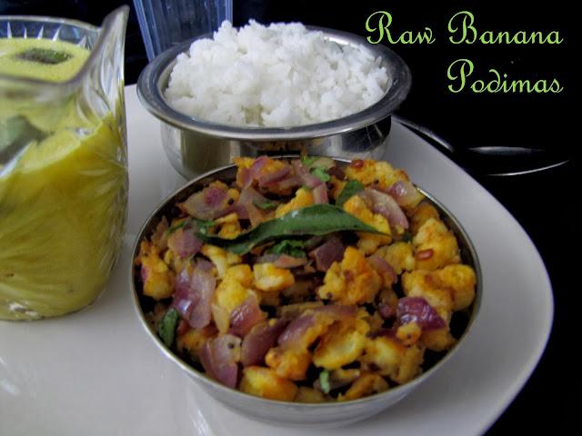 Raw Banana Podimas