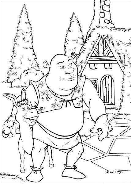 Shrek Drawings Coloring ~ Child Coloring