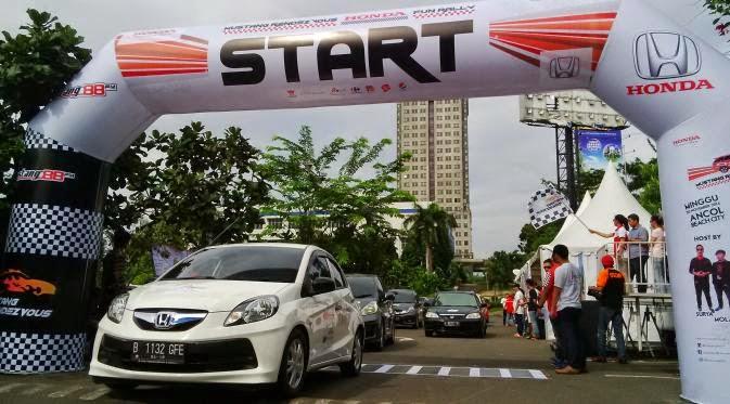 Serrunya Honda Fun Rally Yang Diramaikan 100 Mobil