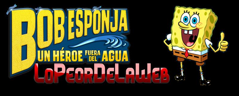 Bob Esponja: Un Héroe Fuera Del Agua (2015) WEB-DL 720p Dual