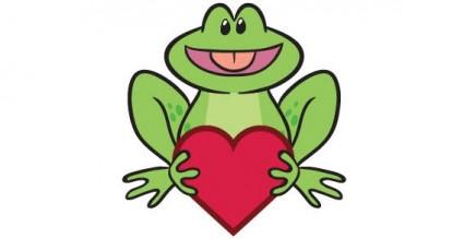 gambar kartun katak