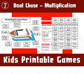Printable Kids Games