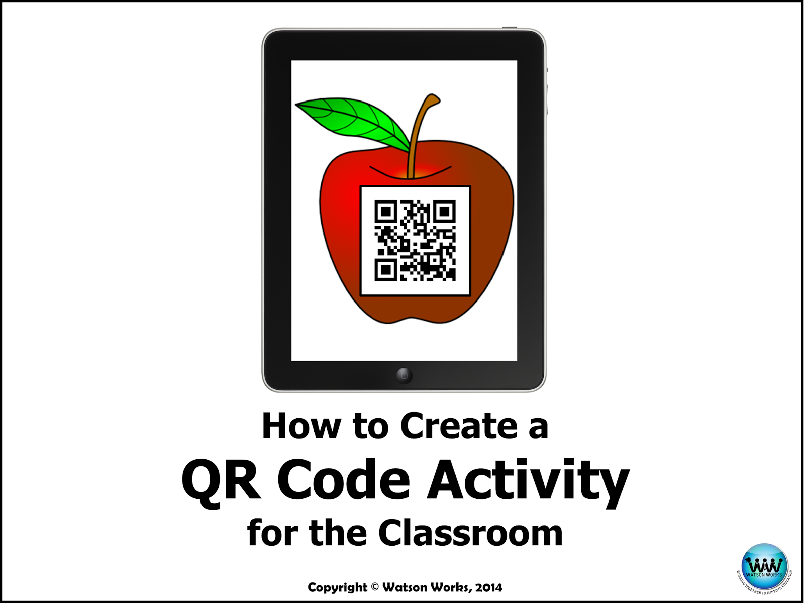 http://www.teacherspayteachers.com/Product/How-to-Create-a-QR-Code-Activity-for-the-Classroom-User-Guide-1519602