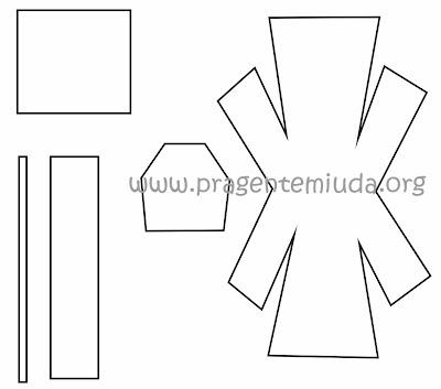 Moldes de lembrancinha de formatura com pirulito e EVA