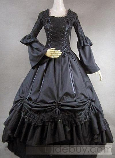http://www.tidebuy.com/product/Long-Sleeves-Ball-Gown-Black-Gothic-Victorian-Dress-10417845.html