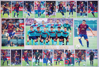 Barcelona FC 2012 Wallpaper