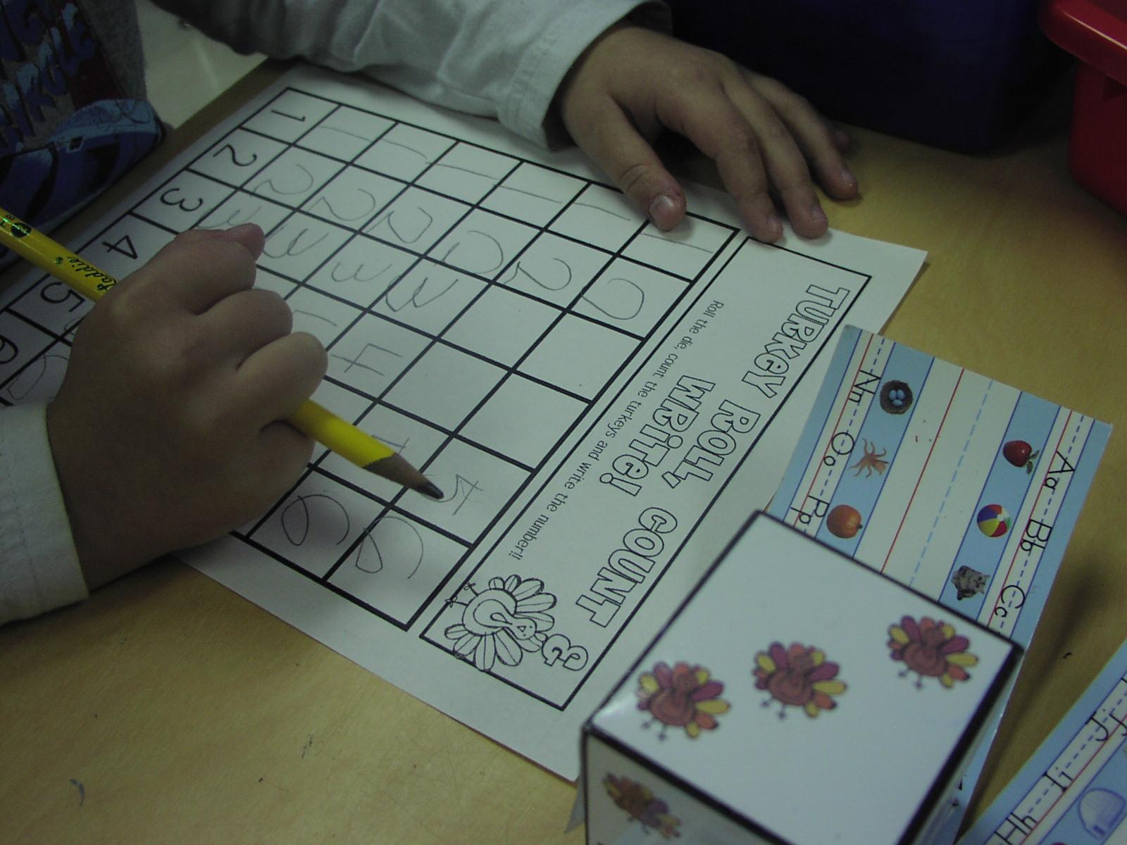 Keen On Kindergarten: November Math Stations