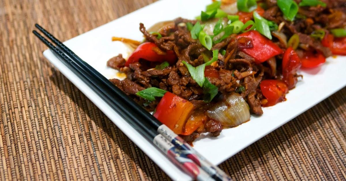 Pepper Steak Stir Fry with Black Bean Sauce | Taste Chronicles
