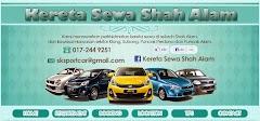 Tempahan Design Blog: Blog Kereta Sewa Shah Alam