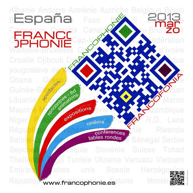 FRANCOPHONIE 2013 - L'AFFICHE
