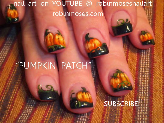 Fall leaves fall nail art fall nails easy fall leaves fall nail art tutorials diy fall nails fall nail tutorials for beginners autumn nails easy thanksgiving nails solutioingenieria Images