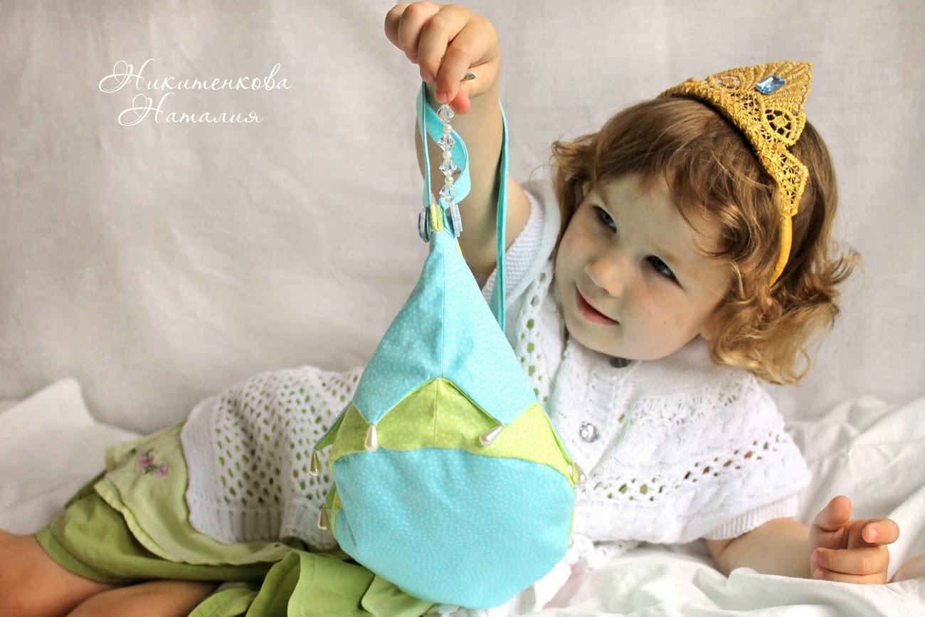 корона, сумочка для девочки, Эльза, Холодное сердце, корона из кружева