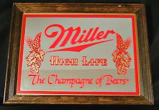 Miller High Life Mirror