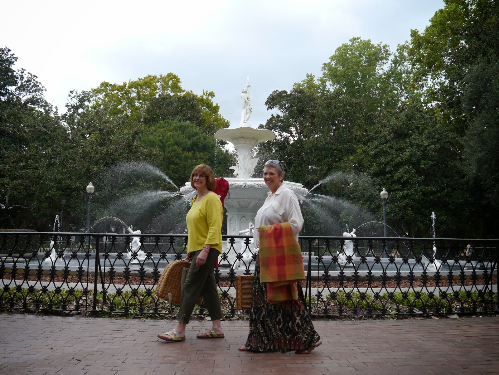 Savannah tourism stars with Savannah Picnic in Forsyth Park