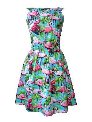 Flamingo Bird Dress