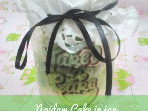 Ngidam Cake in Jar