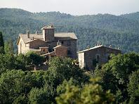 Postius i l'ermita des del Serrat de La Pinosa