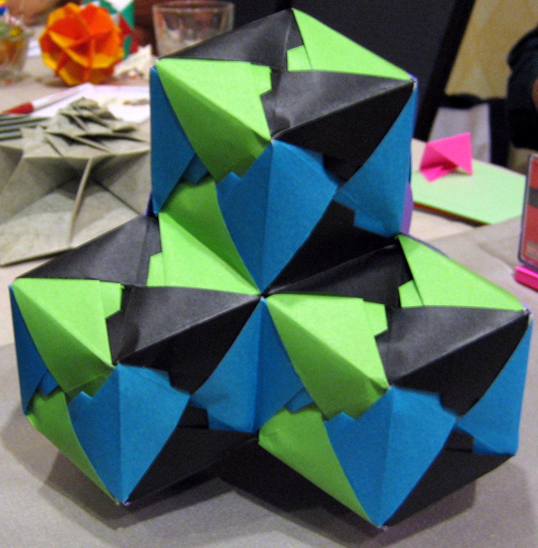 the mathematical tourist folding math