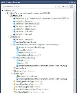 Visual Studio 2012 XML Schema Editor
