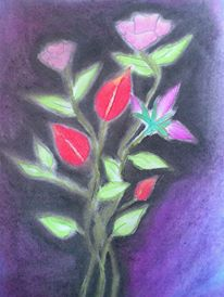 Flowers and Flowers A Colorful Sketch ~ SHYAM