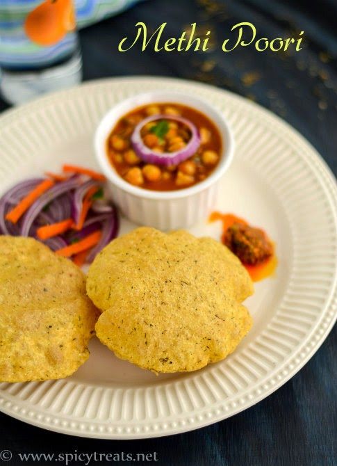 Methi Poori Recipe