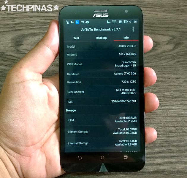 Asus ZenFone 2 Laser 5.5-inch ZE550KL