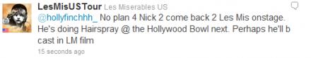¿Nick Jonas protagonizará la película de Les Miz? Jk