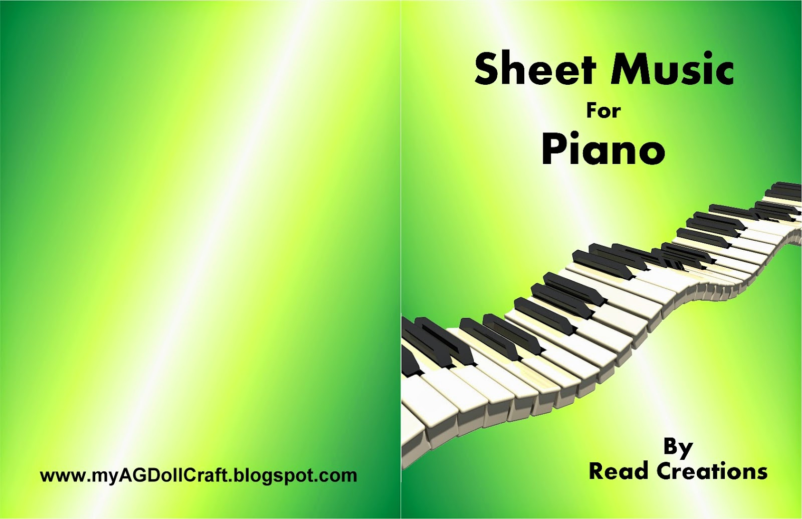 Piano book Cover