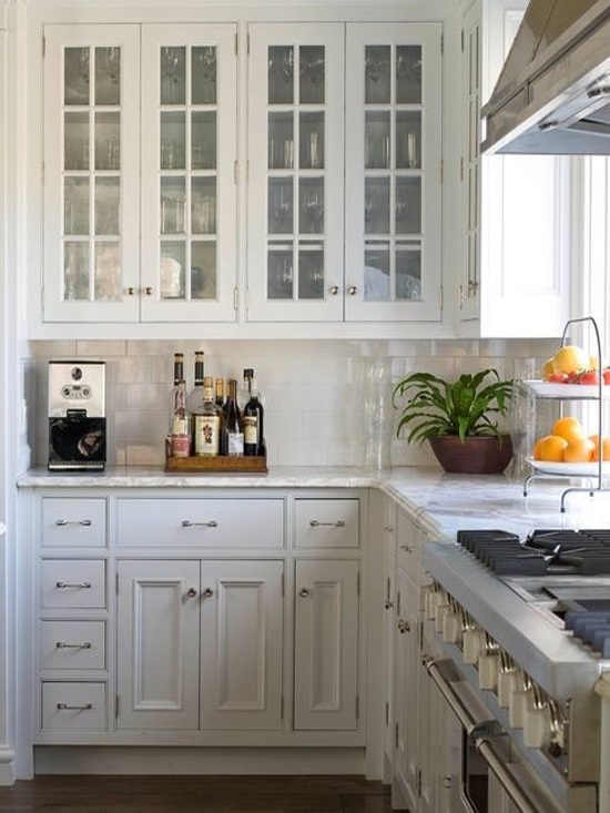 Hampton Style Kitchen Cabinet