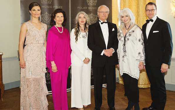 Queen Silvia of Sweden and King Carl Gustaf of Sweden, Crown princess Victoria of Sweden and Prince Daniel
