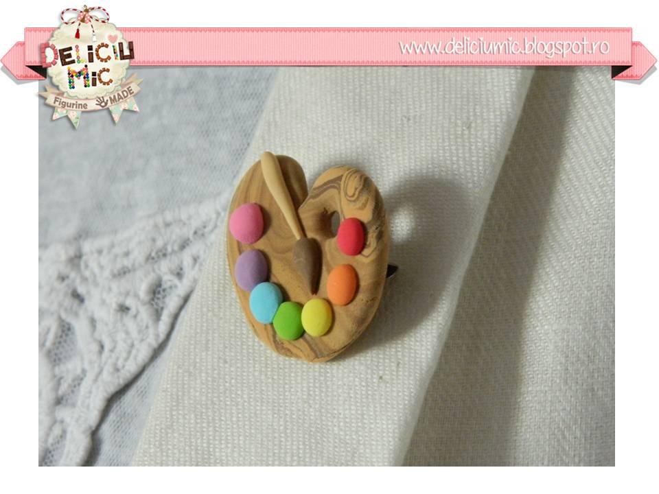 Brosa handmade Paleta de Culori