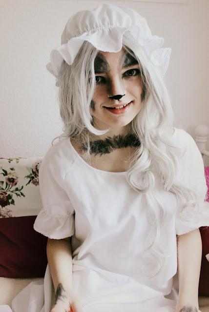 Lichtstaubmelodie: Der böse Wolf im Nachthemd - Kostüm