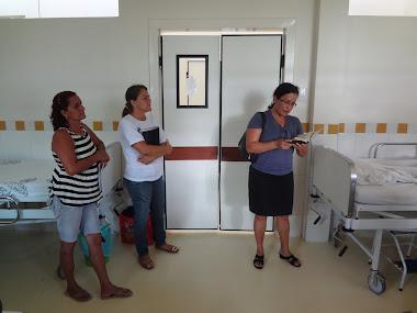 Evangelização na Fundação Hospitalar - Rio Branco-AC