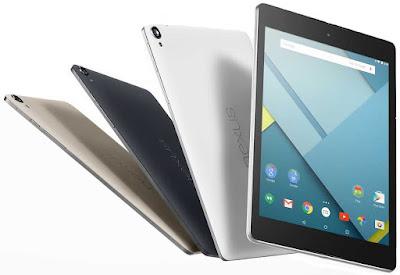 Harga dan Spesifikasi HTC Nexus 9 Terbaru
