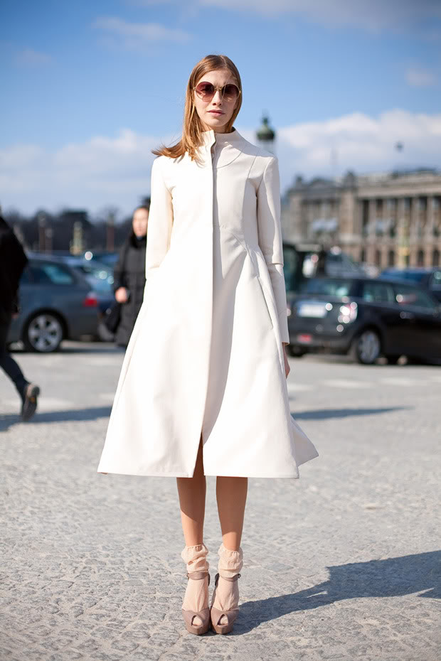Street Style Elena Perminova The Front Row View