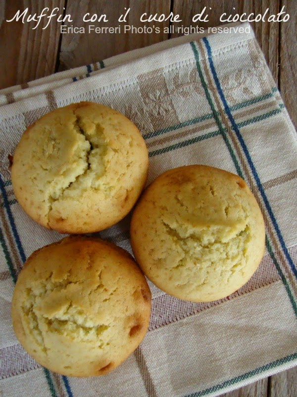 Muffin con ripieno