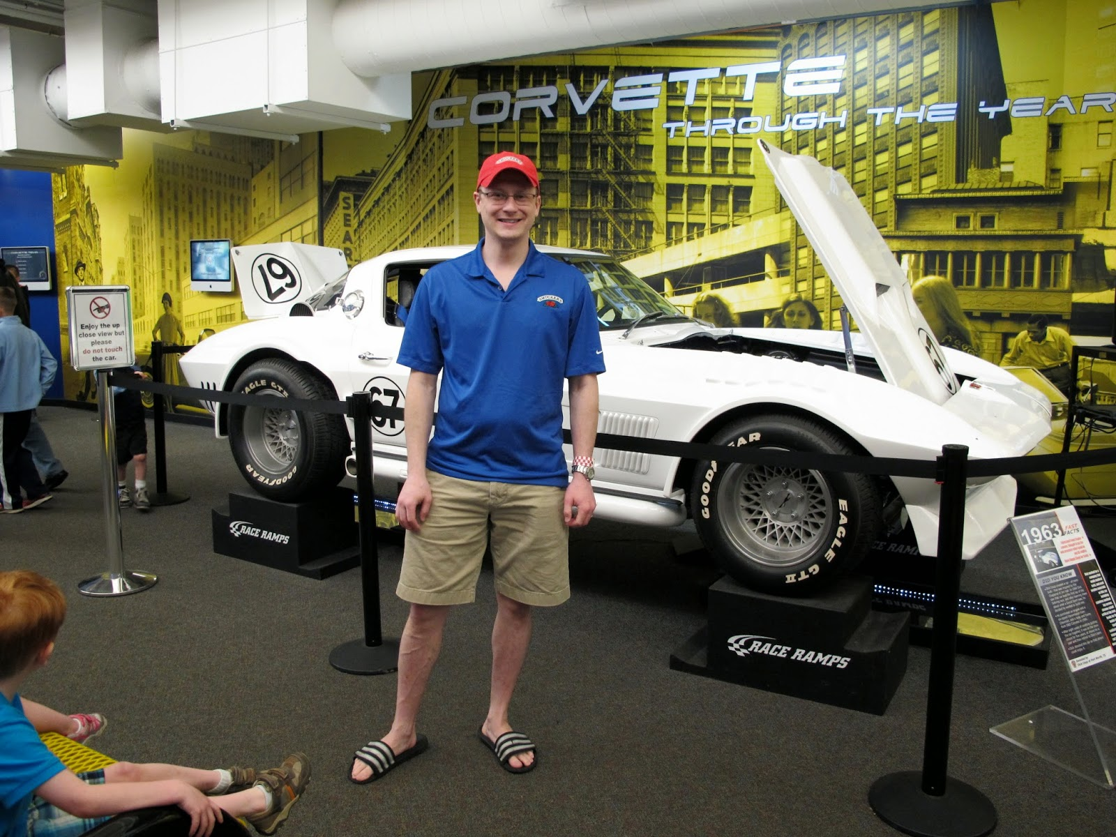 Brian at the National Corvette Museum