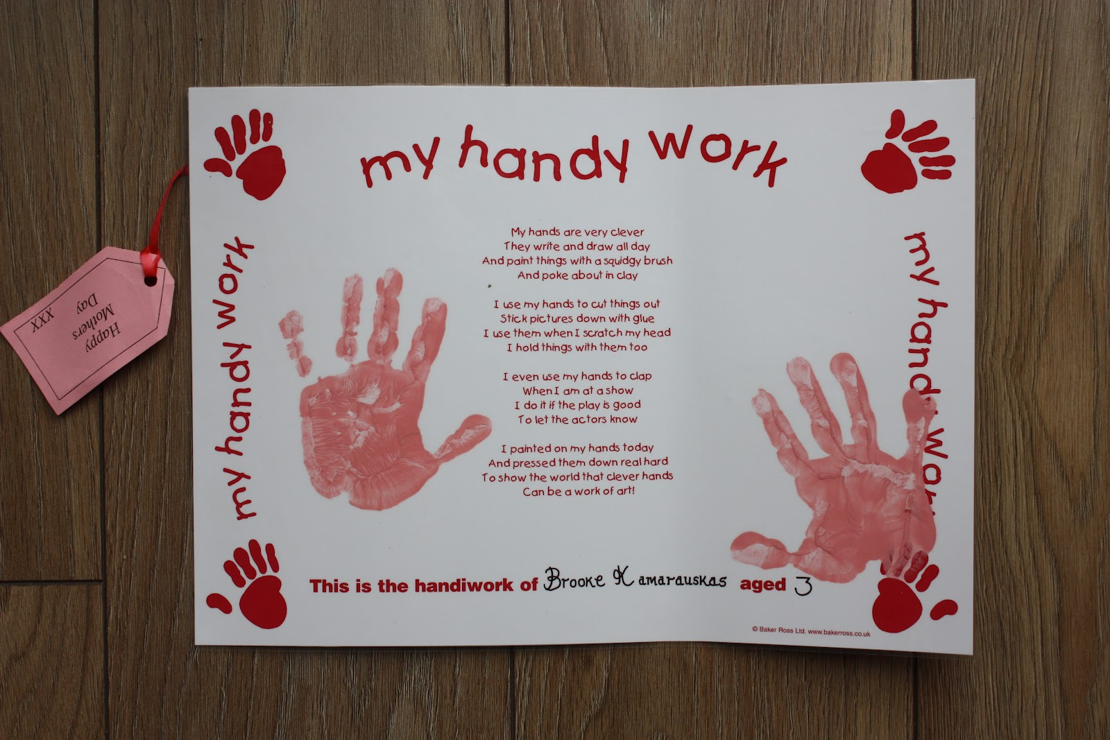 Safe Paint For Kids Hand Prints
