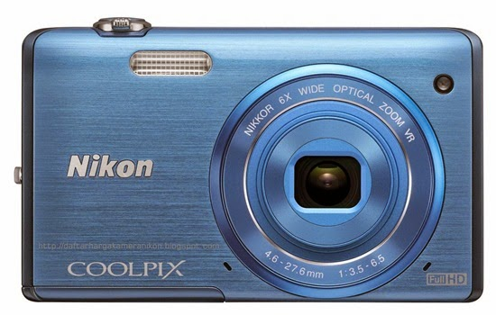 Harga dan Spesifikasi Kamera Nikon Coolpix S5200