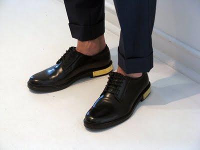 Raf Simons Shoes Black Pink
