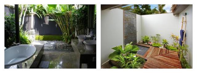 Baño Con Vista Al Jardin:Divinos diseños de baños al aire libre