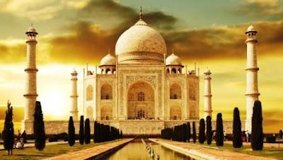 sejarah pembangunan taj mahal di india