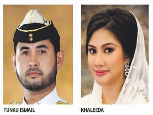 10 Gambar Majlis Pernikahan TMJ Che Puan Khaleeda Tahniah