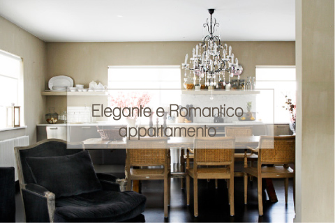 elegante e romantico appartamento | blog di arredamento e interni ... - Arredamento Classico Romantico