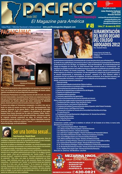Revista Pacífico Nº 49 Arqueología