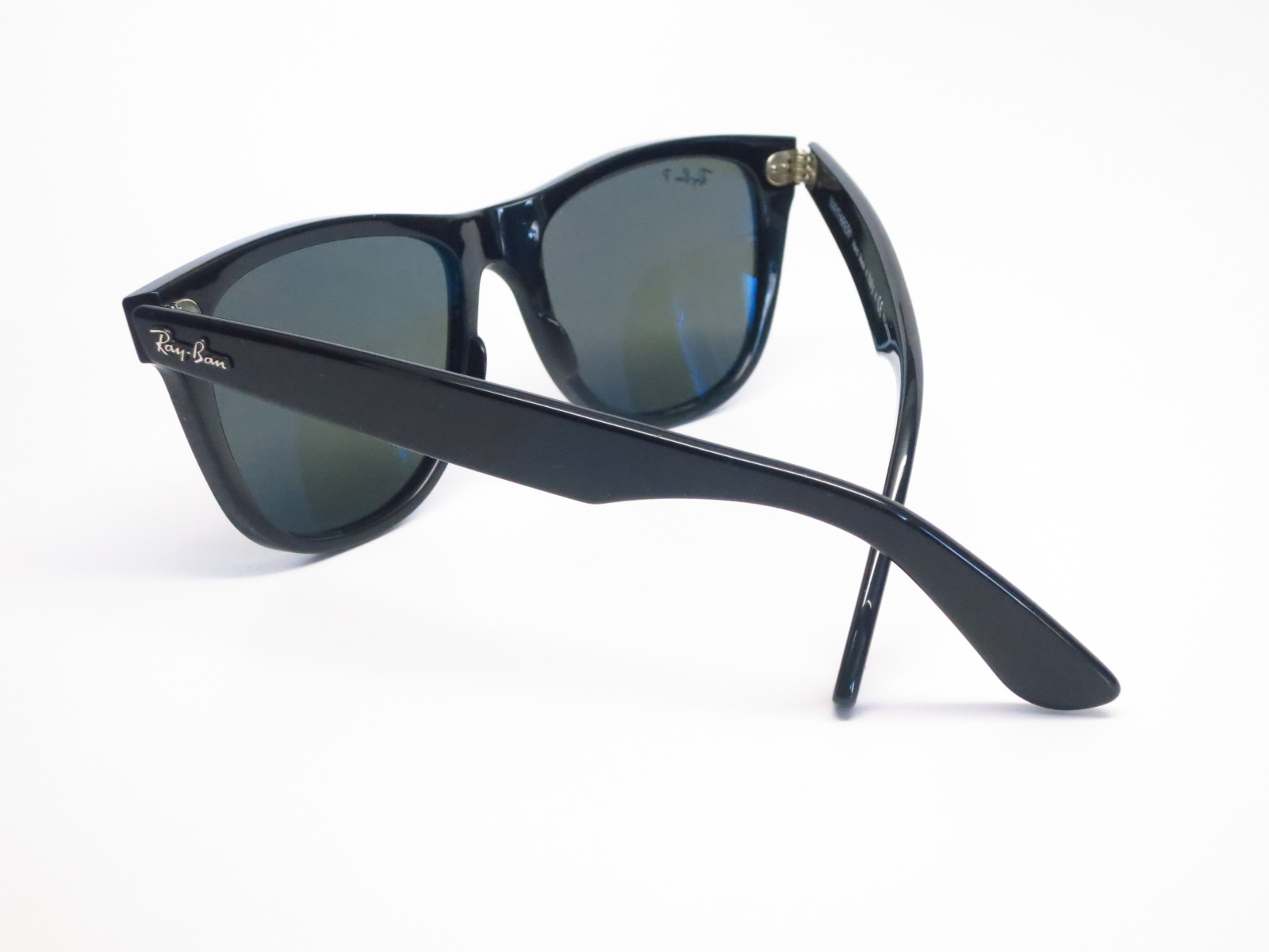 rb2140 polarized tz9s  Ray-Ban RB 2140 Original Wayfarer 901/58 Shiny Black Polarized Sunglasses