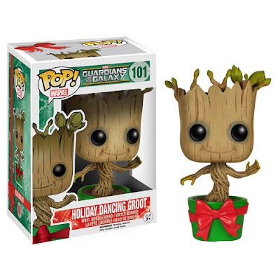 "Guardians of the Galaxy ""Holiday"" Dancing Groot Pop! Marvel Vinyl Figure by Funko"