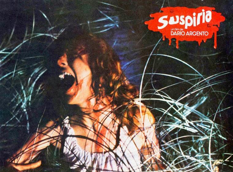 Spanische Lobby Card zu SUSPIRIA von Dario Argento. Quelle: Seda Spettacoli