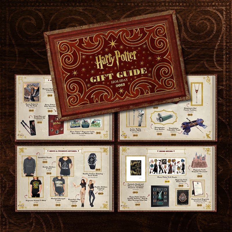 Win a 'HARRY POTTER' Gift Pack: #hpgiftguide13 | Forces of ...
