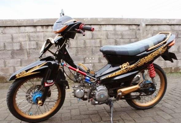 shogun racing look shogun 125 drag modif motorcycle